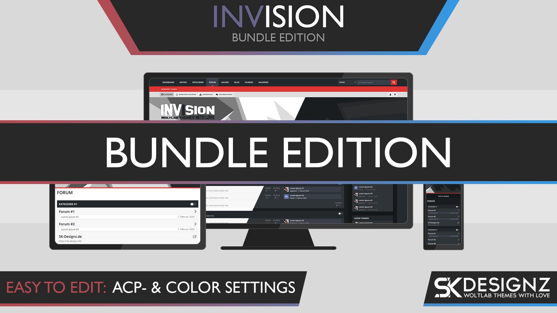 Invision - Bundle Edition