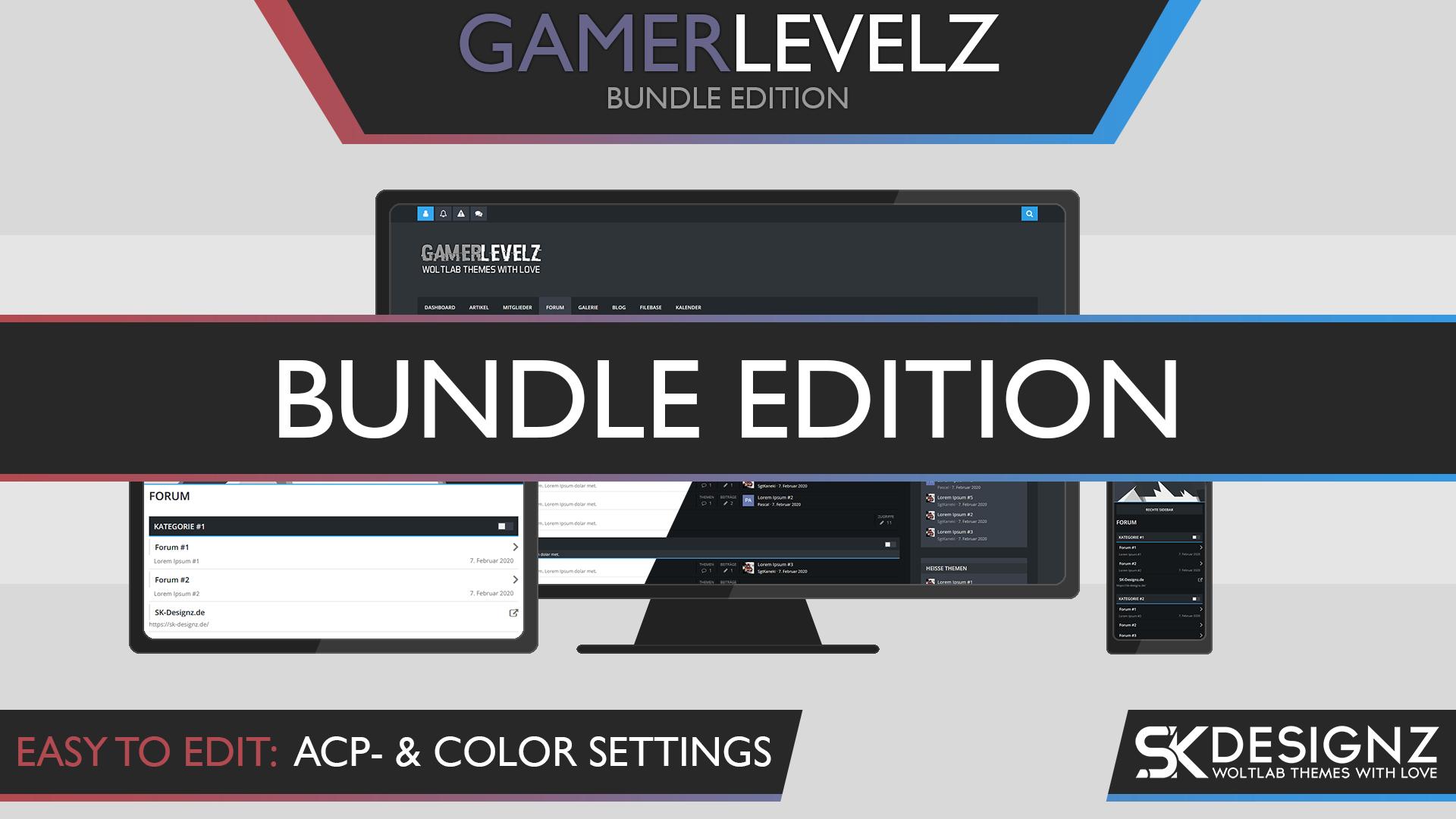 GamerLevelz - Bundle Edition