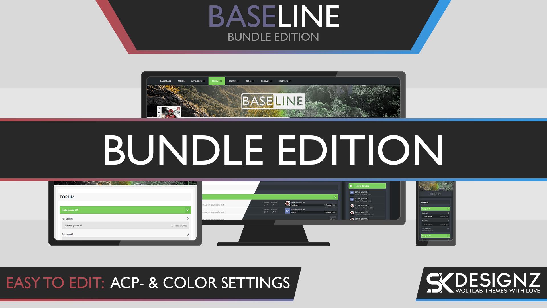 BaseLine - Bundle Edition