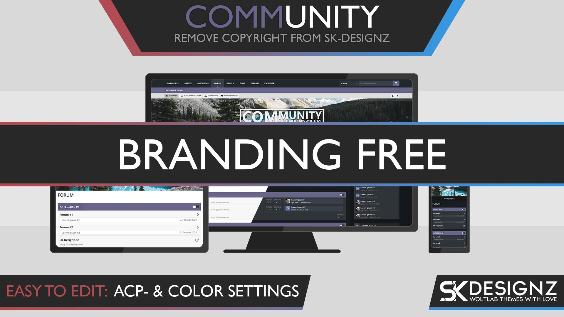 Community - Branding Free