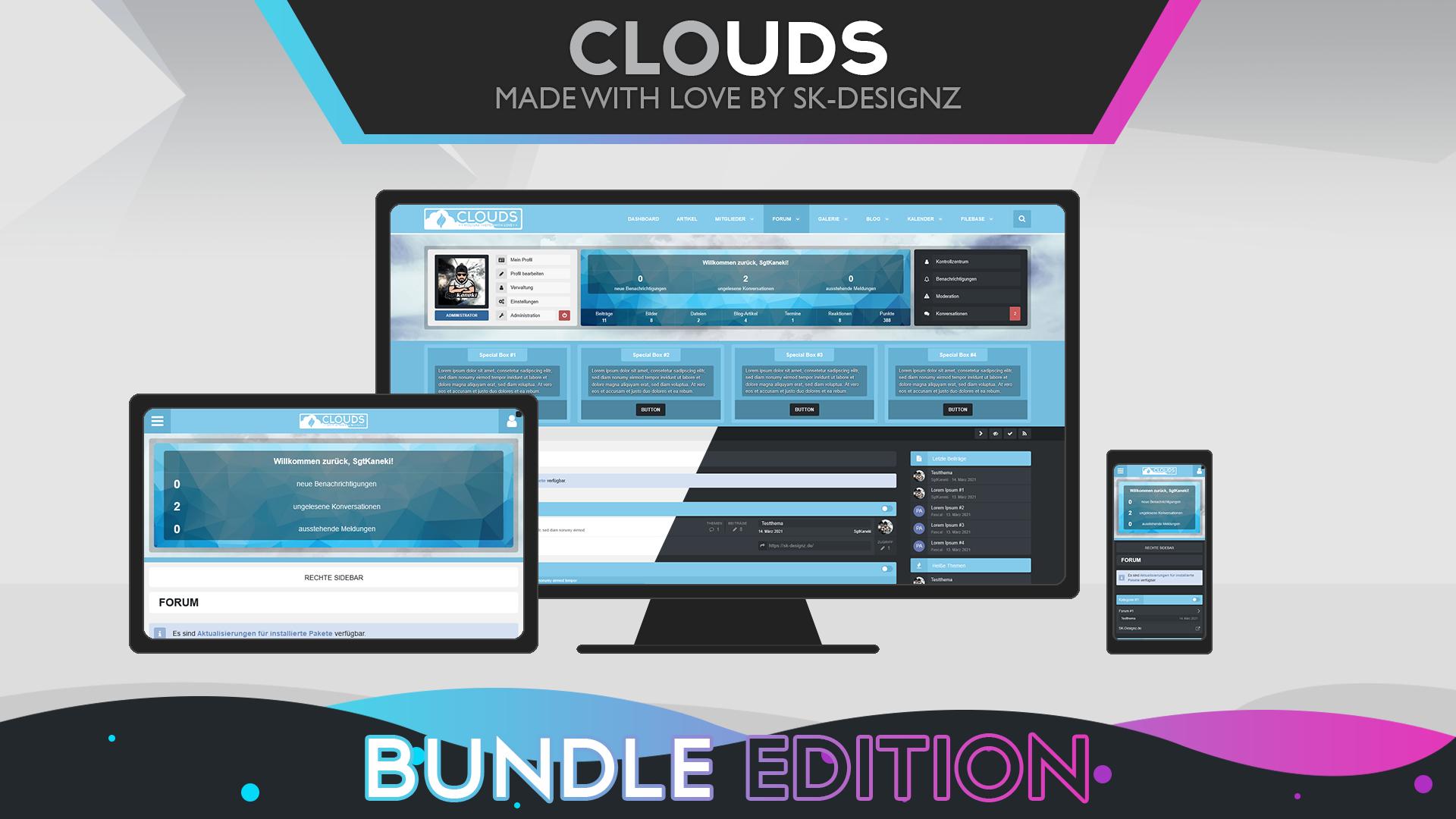 Clouds - Bundle Edition